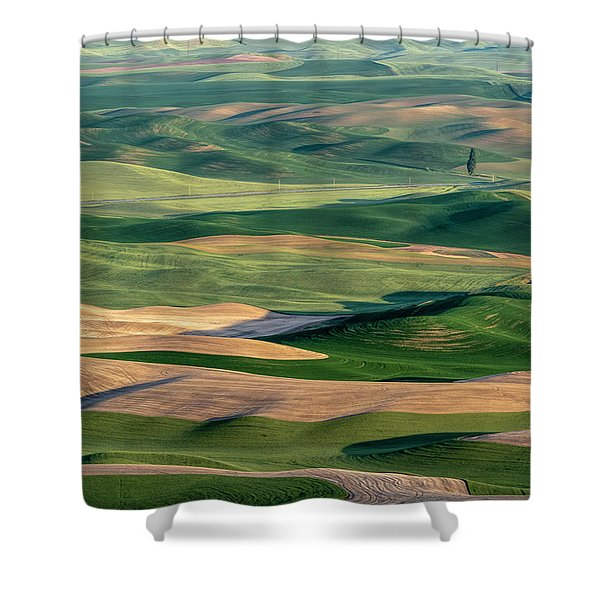 The Palouse Shower Curtain
