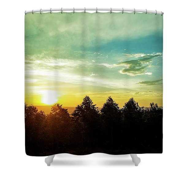 the Panorama route in Mpumalanga, South Africa. Shower Curtain