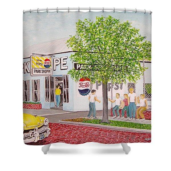 The Park Shoppe Portsmouth Ohio Shower Curtain