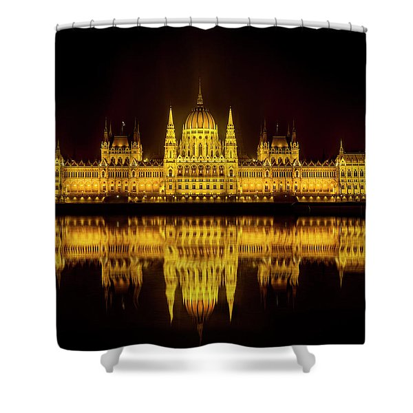 The Parliament House Shower Curtain