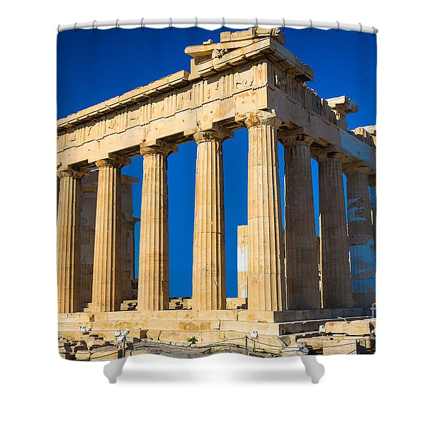 The Parthenon Shower Curtain