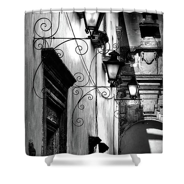 The Passage Way Shower Curtain