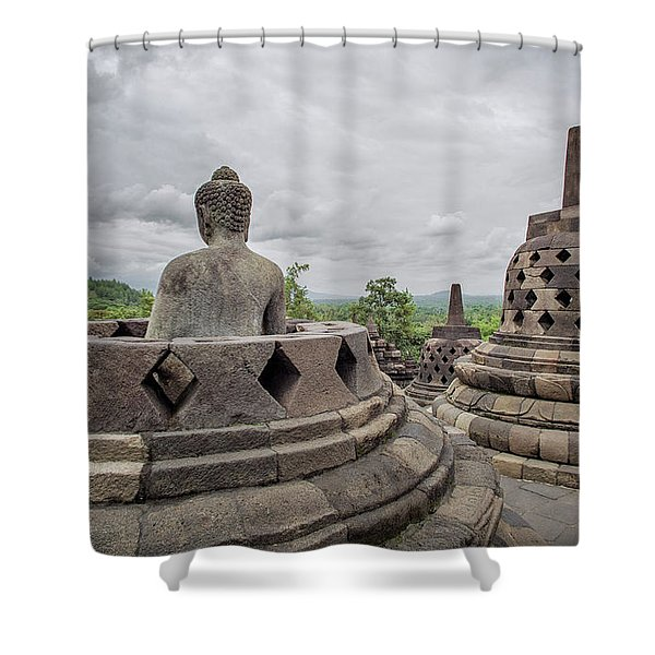 The Path Of The Buddha #5 Shower Curtain