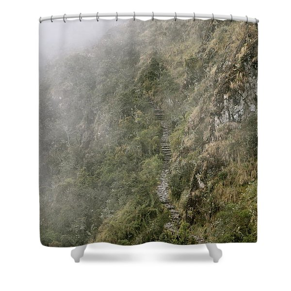 The Path To Self-discovery Shower Curtain