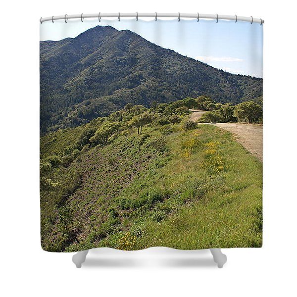 The Path To Tamalpais Shower Curtain