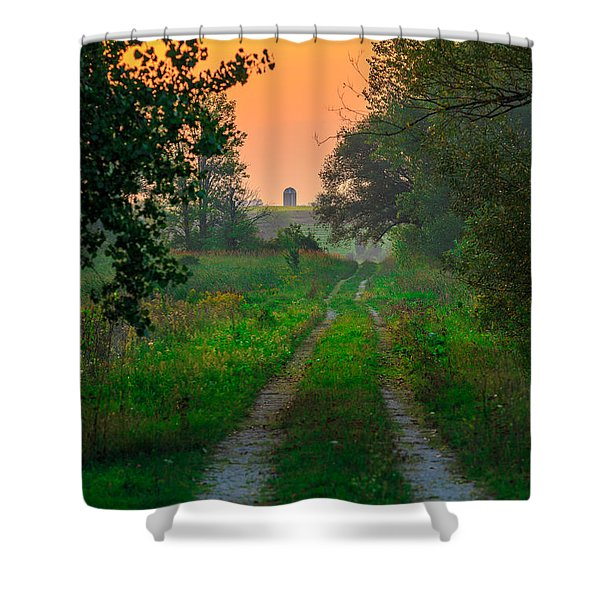 The Path We Follow Shower Curtain