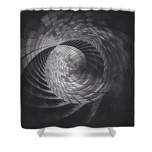 The Pathos Of Least Resistance Shower Curtain
