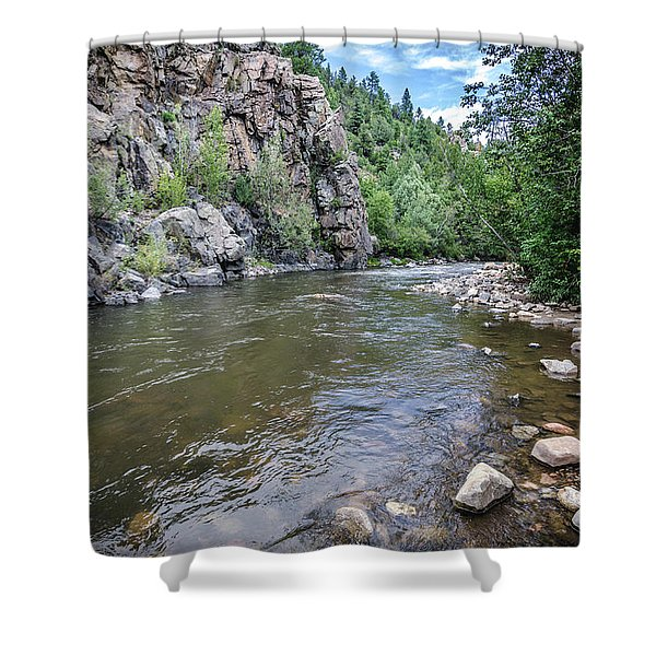 The Pecos River Shower Curtain