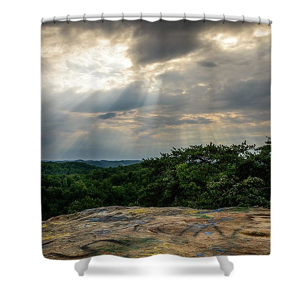 The Peoples Rock Shower Curtain