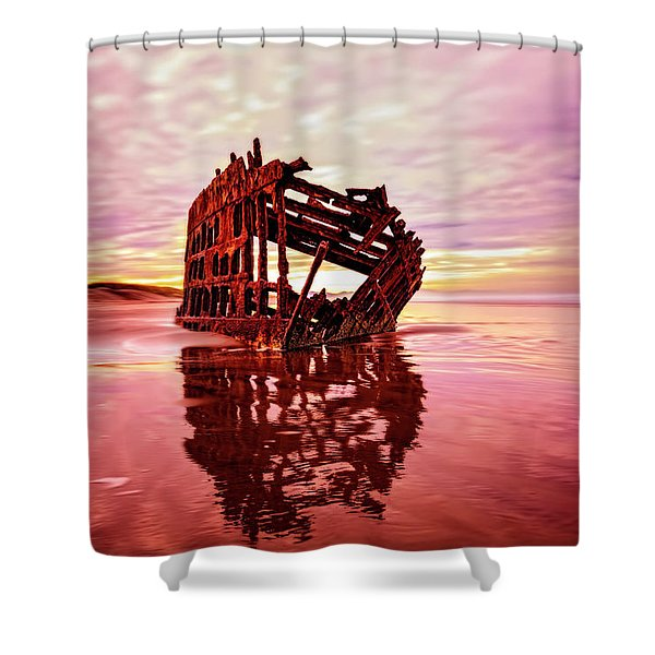 Peter Iredale Fantasy Shower Curtain
