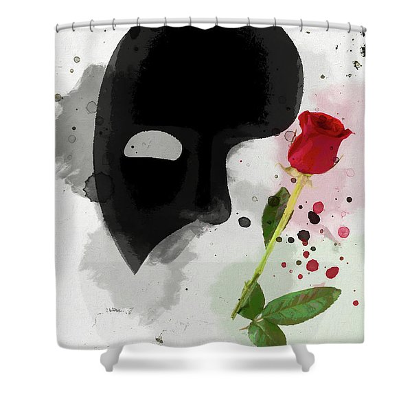 The Phantom Of The Opera Shower Curtain
