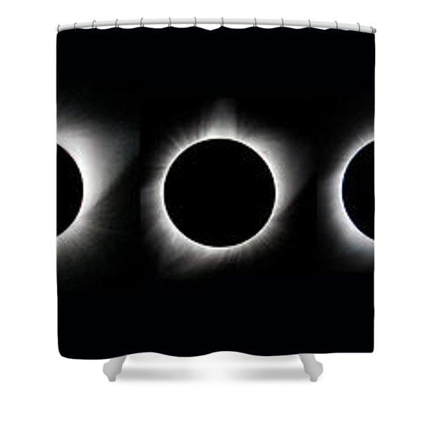 The Phase Of An Eclipse - Straight Shower Curtain