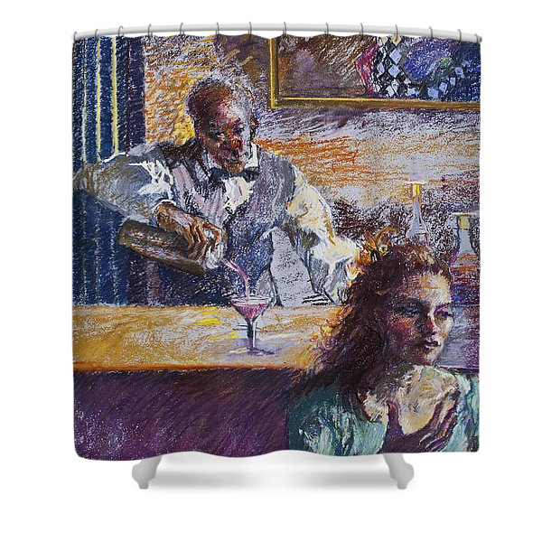The Pied Piper Shower Curtain