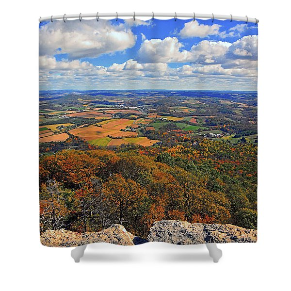 The Pinnacle On Pa At Shower Curtain