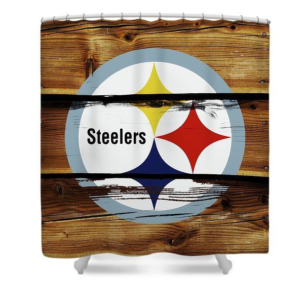 The Pittsburgh Steelers 18a Shower Curtain