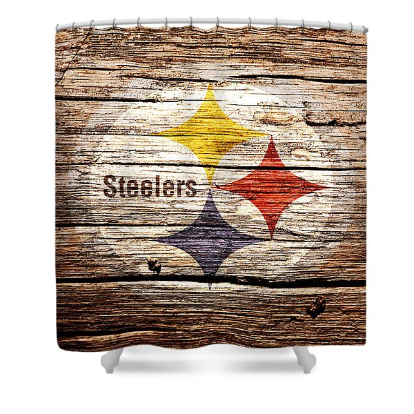 The Pittsburgh Steelers 2c Shower Curtain