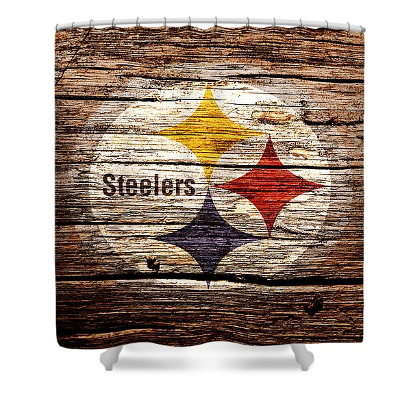 The Pittsburgh Steelers 2d Shower Curtain
