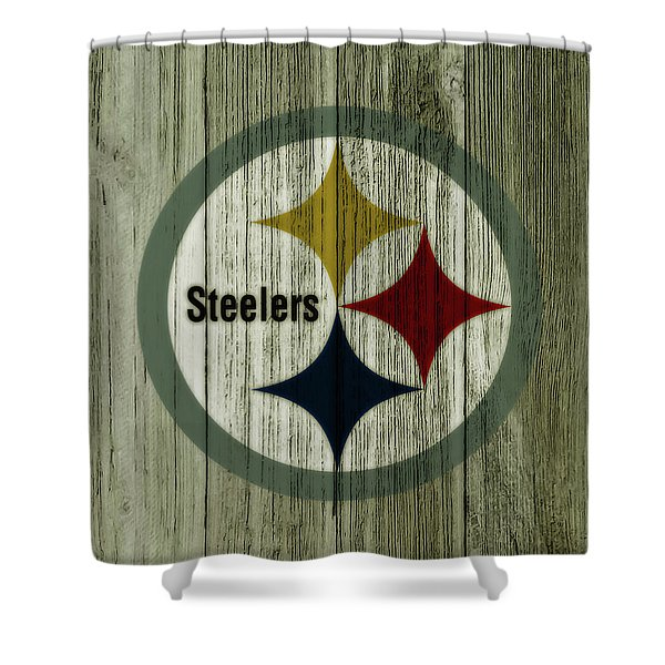 The Pittsburgh Steelers C1 Shower Curtain