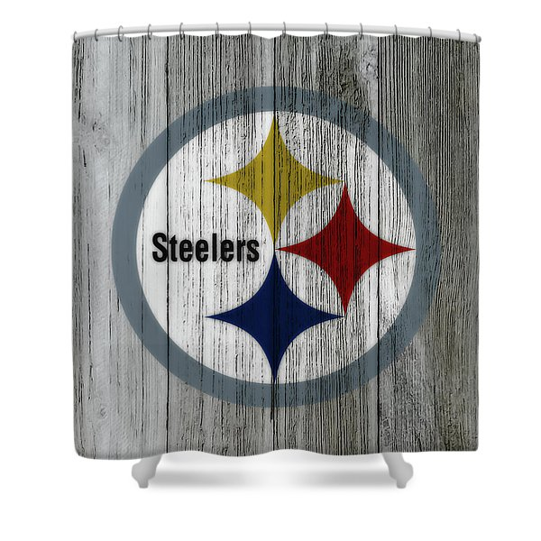 The Pittsburgh Steelers C2 Shower Curtain