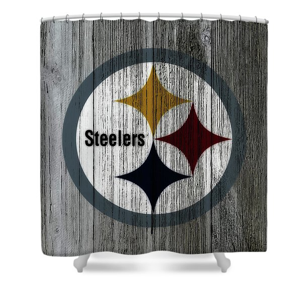 The Pittsburgh Steelers C3 Shower Curtain