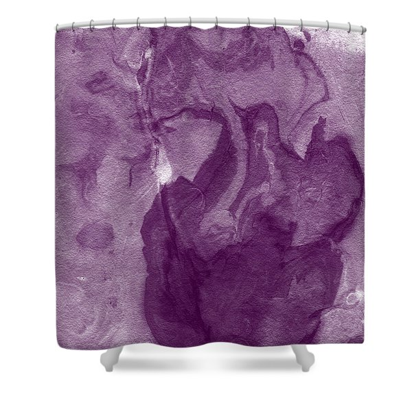 The Place I Belong- Abstract Art By Linda Woods Shower Curtain
