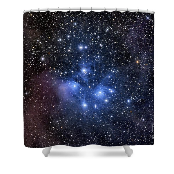 The Pleiades, Also Known As The Seven Shower Curtain by Roth Ritter