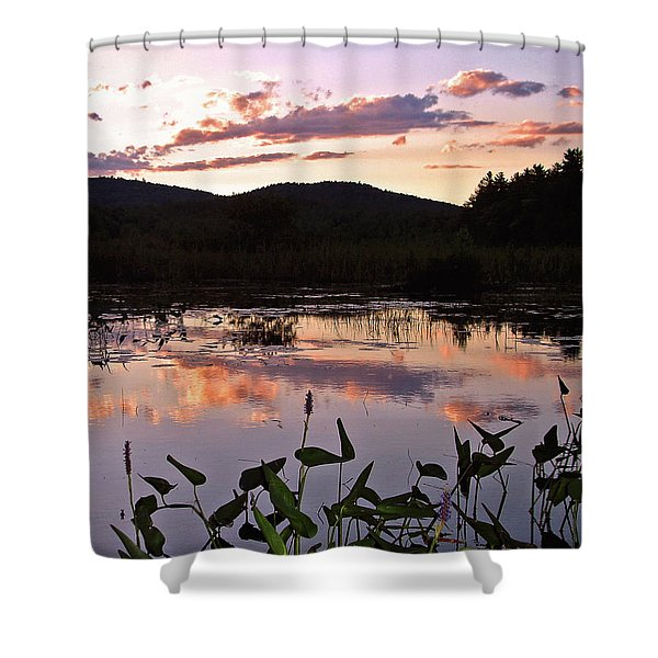 The Poetry Of Twilight Shower Curtain