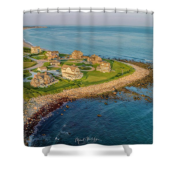 The Point At Weekapaug Shower Curtain