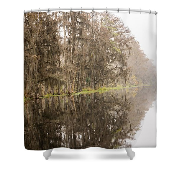 The Point Shower Curtain