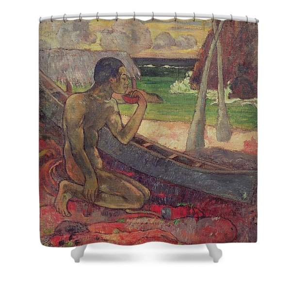 The Poor Fisherman Shower Curtain