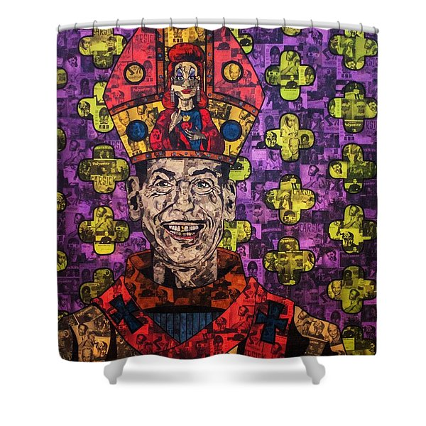 The Pope Of Trash Shower Curtain