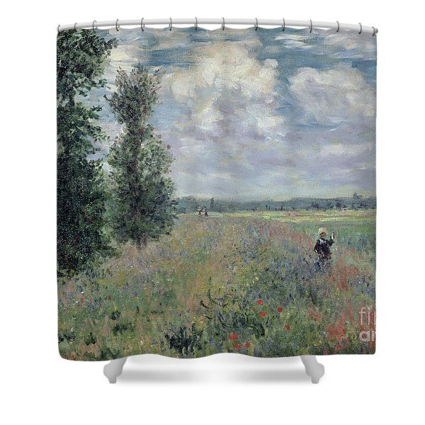 The Poppy Field Shower Curtain