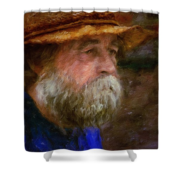 The Portrait Of A Man Shower Curtain