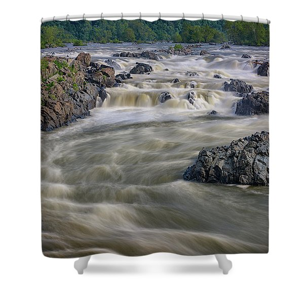 The Potomac Shower Curtain