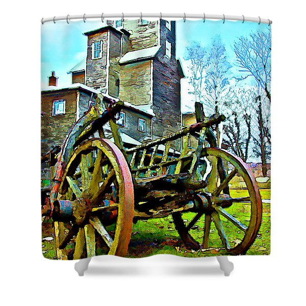 The Pottery - Bennington, Vt Shower Curtain