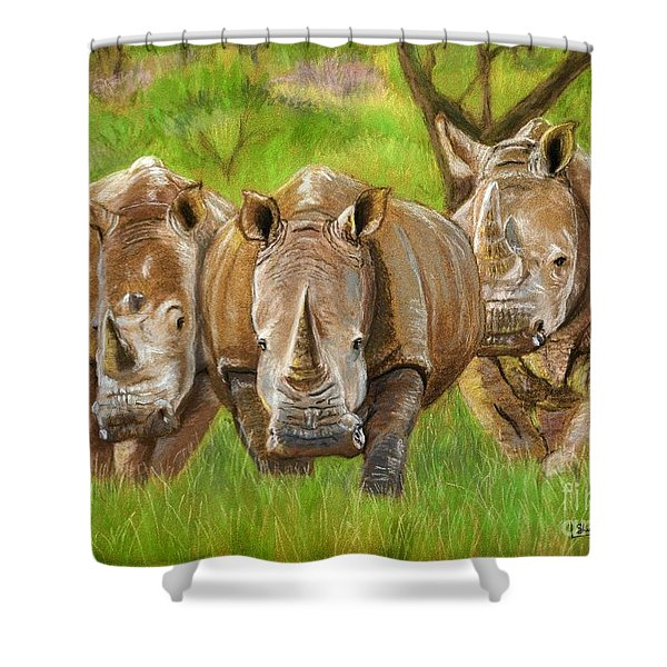 The Power In Three Shower Curtain