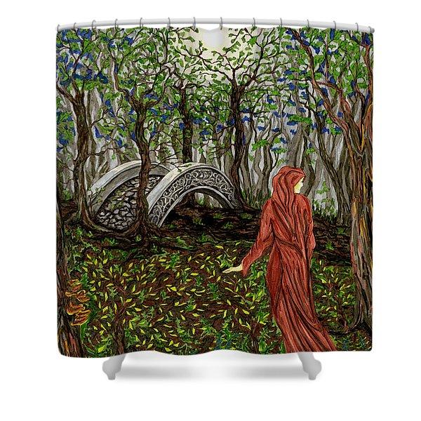 The Priestess Of Ealon Shower Curtain