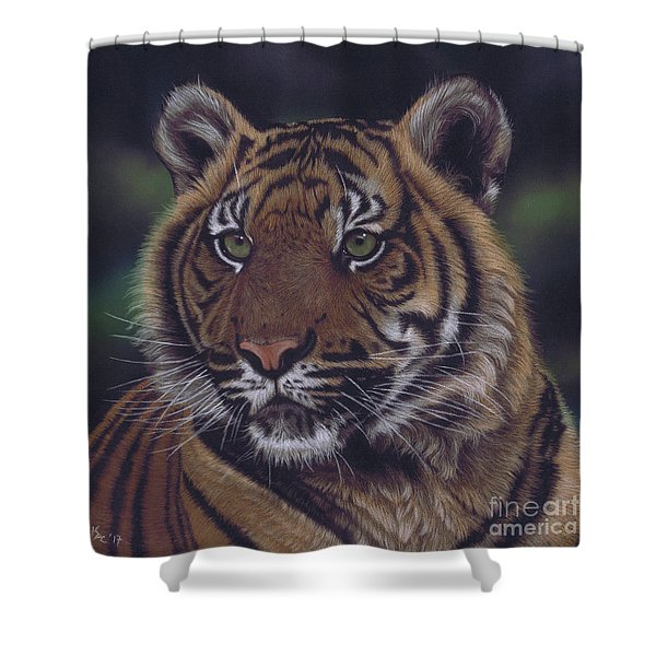 The Prince Of The Jungle Shower Curtain