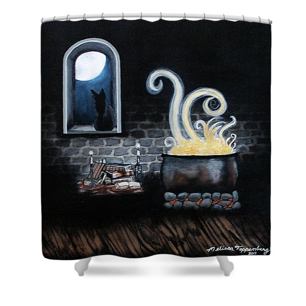 The Spell Shower Curtain