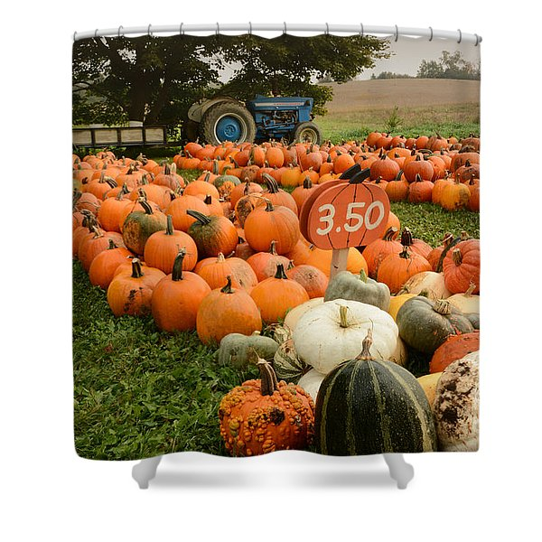 The Pumpkin Farm One Shower Curtain