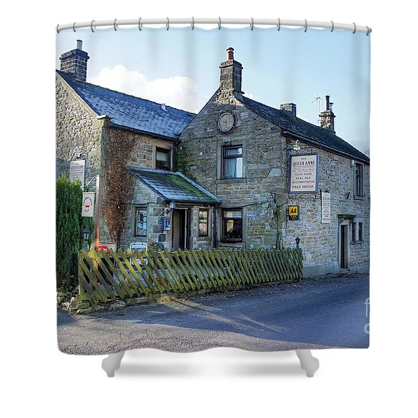 The Queen Anne At Great Hucklow Shower Curtain