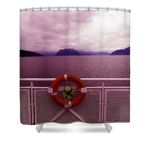 The Queen Of Coquitlan Shower Curtain