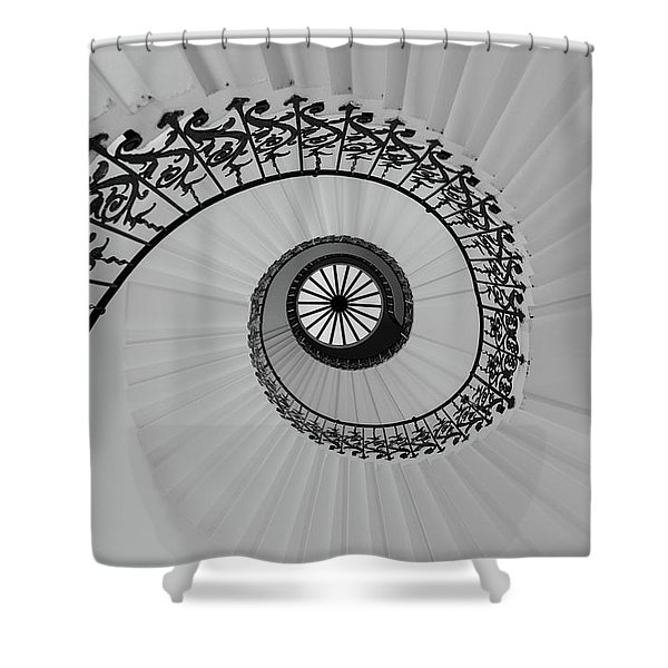 The Queens House Shower Curtain