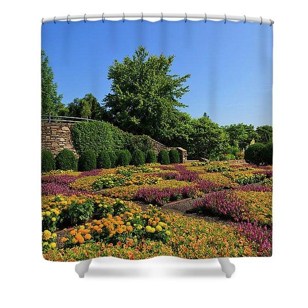 The Quilt Garden Shower Curtain