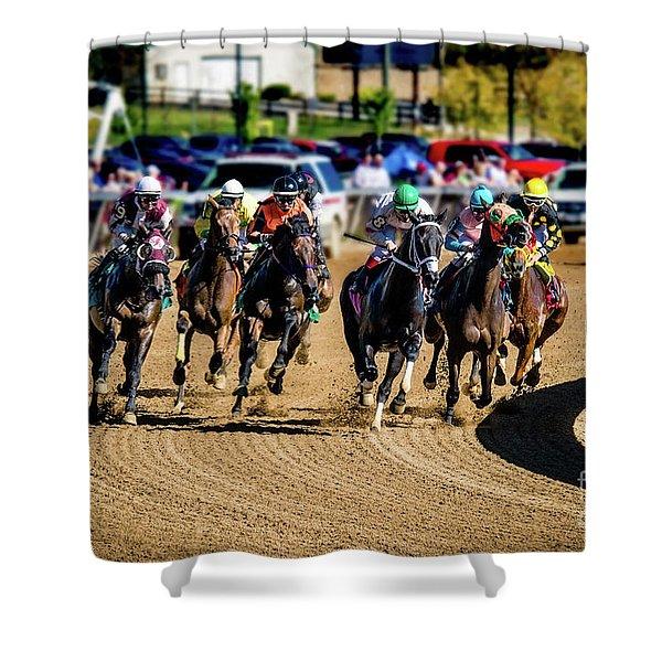The Race Shower Curtain