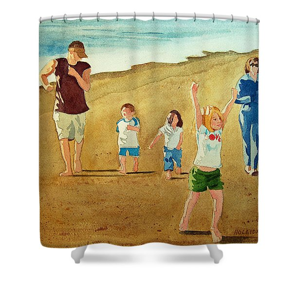 The Race Shower Curtain