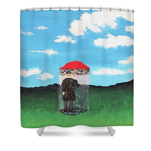 The Rainmaker Shower Curtain