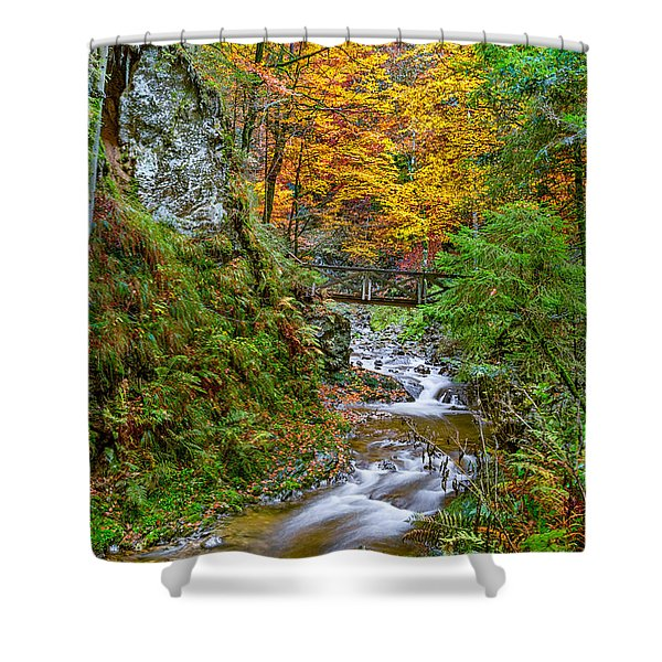 Cascades And Waterfalls Shower Curtain