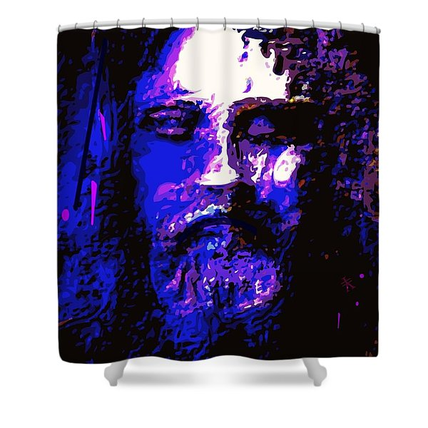 The Real Face Of Jesus Shower Curtain