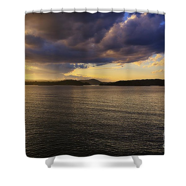 The Reckoning Shower Curtain